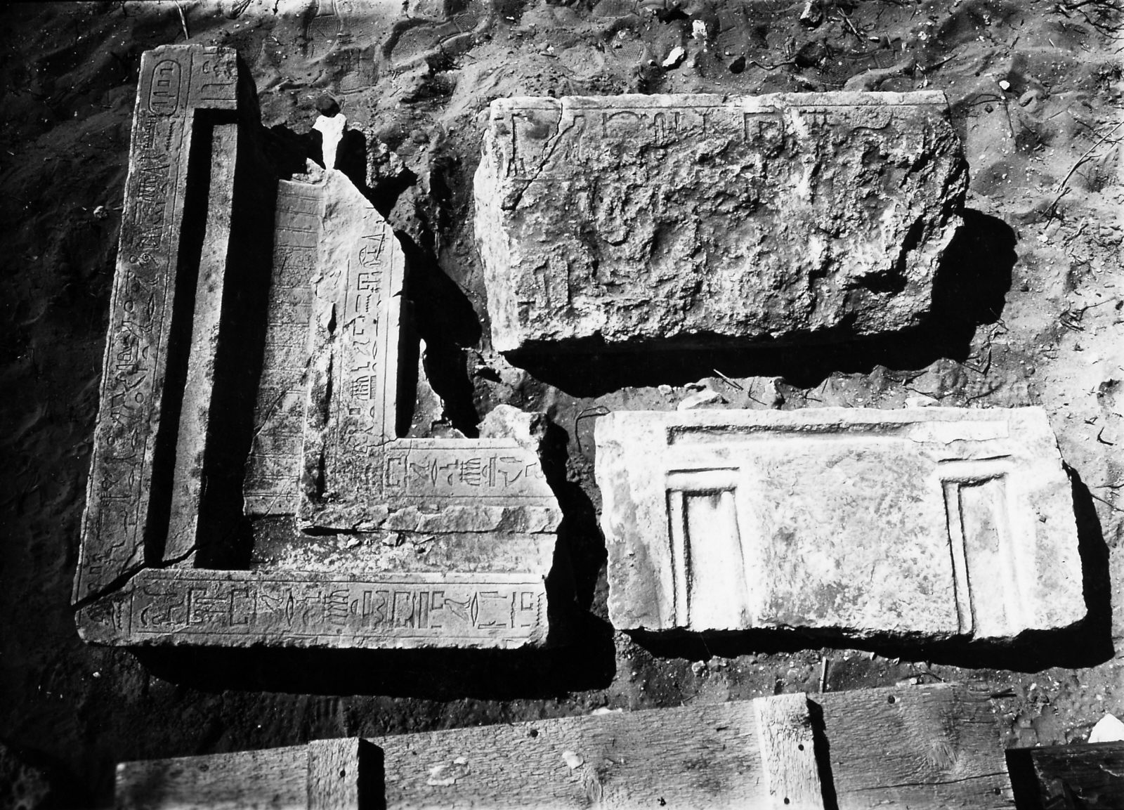 Object(s) photograph: Site: Giza; view: G 4941, D 25, G 5170, Khufuseneb [I]