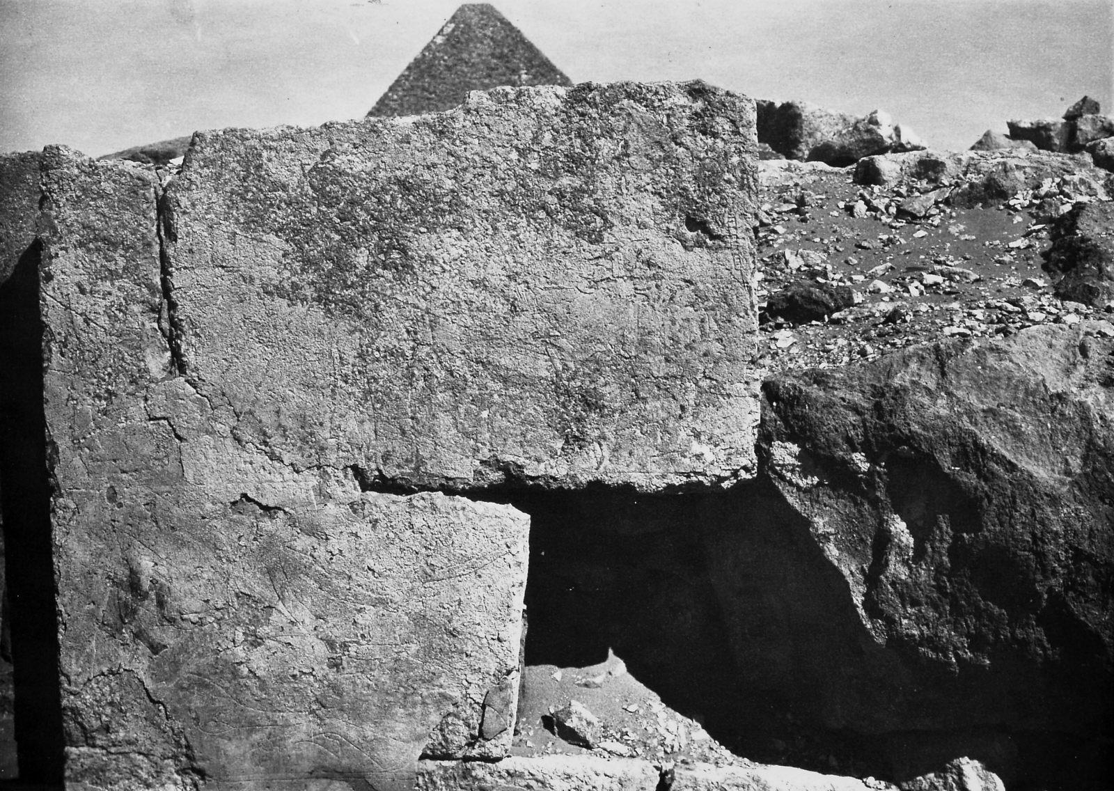 Western Cemetery: Site: Giza; View: Khnumhetep [II]