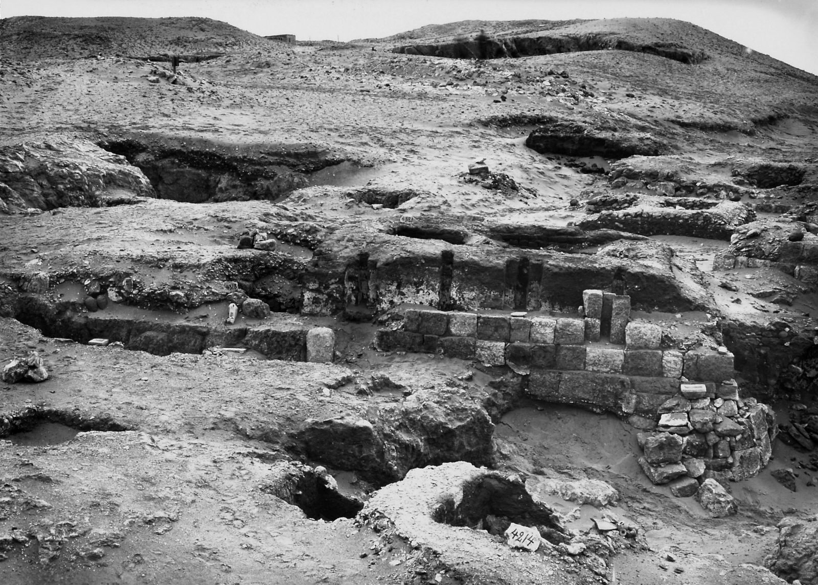 Western Cemetery: Site: Giza; View: Hepetweser, S 4214