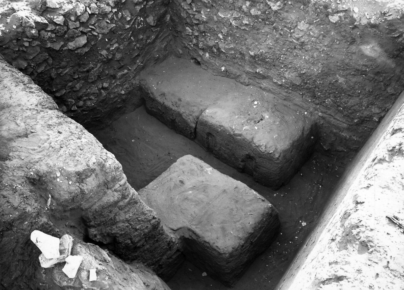 Western Cemetery: Site: Giza; View; near Itju