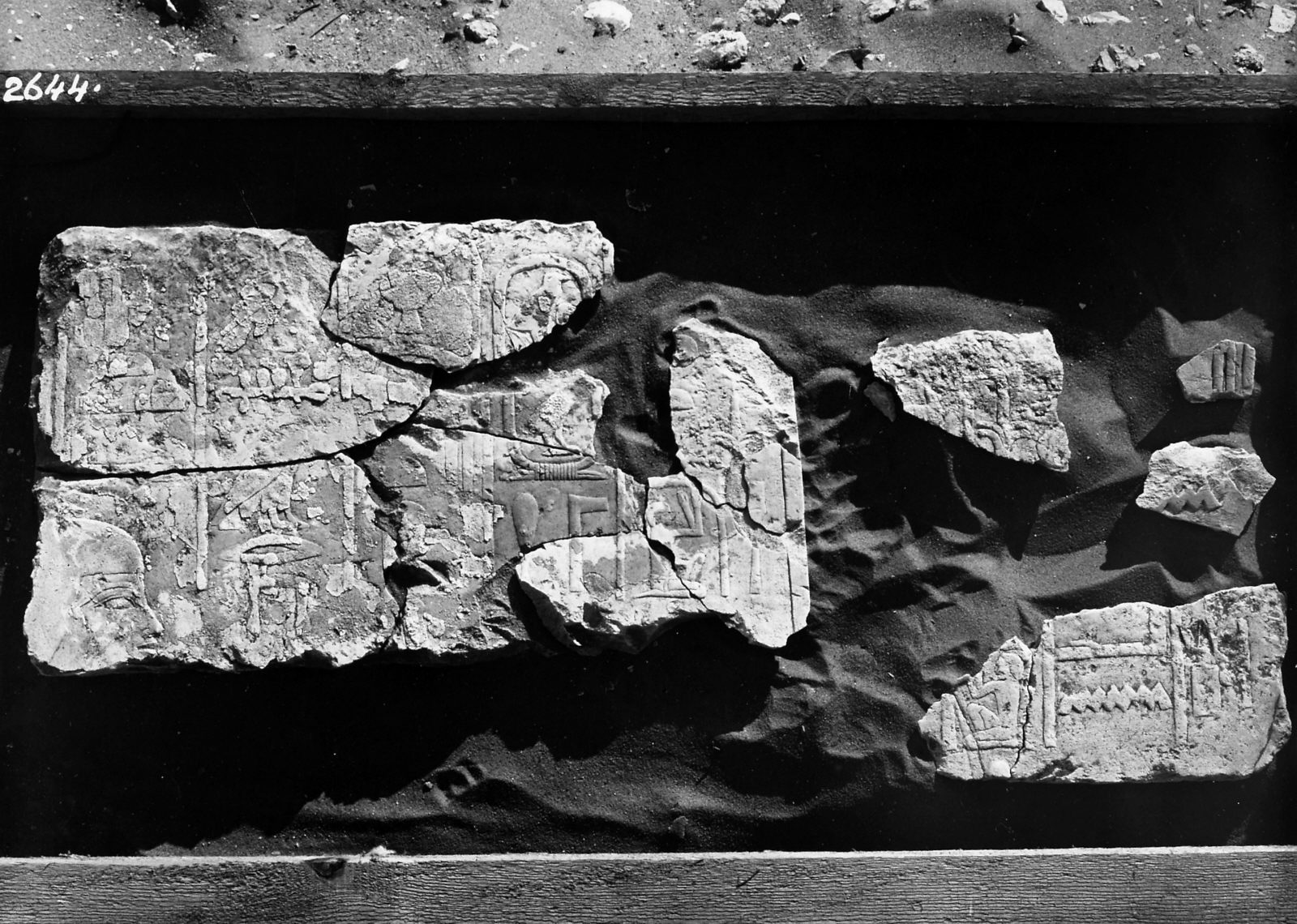 Object(s) photograph: Site: Giza; view: Khnumhetep [II]