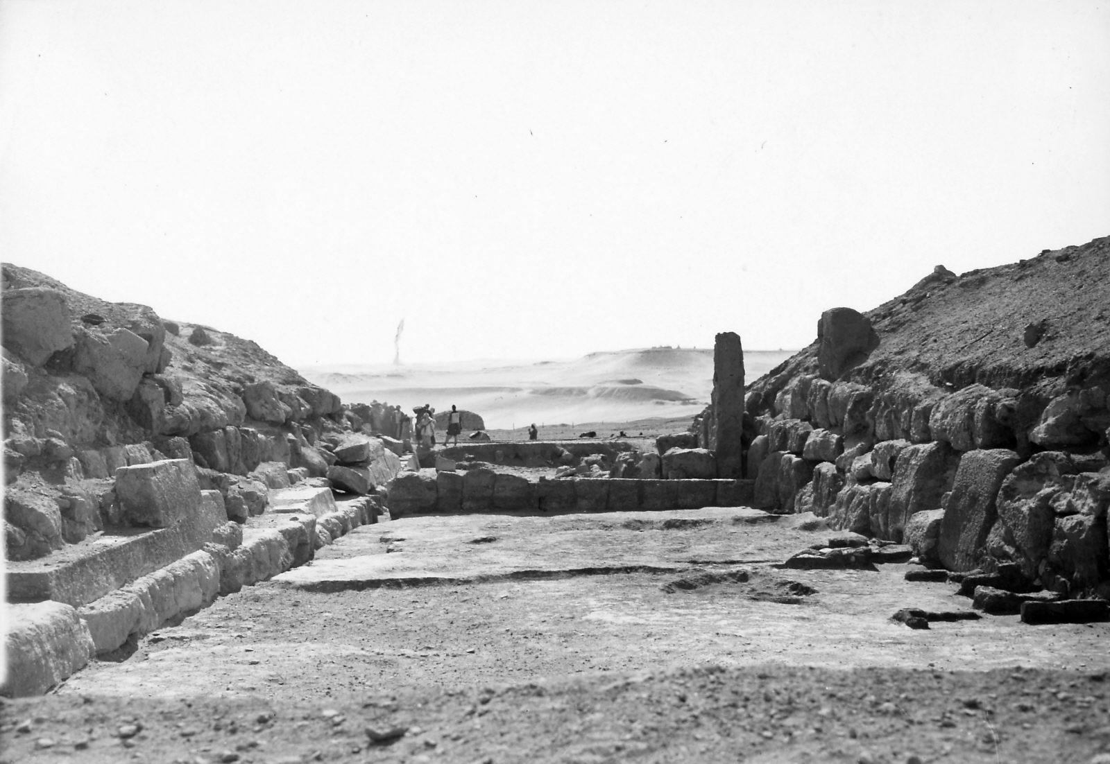 G I-South Cemetery: Site: Giza; View: Mastaba VIII, Mastaba IX