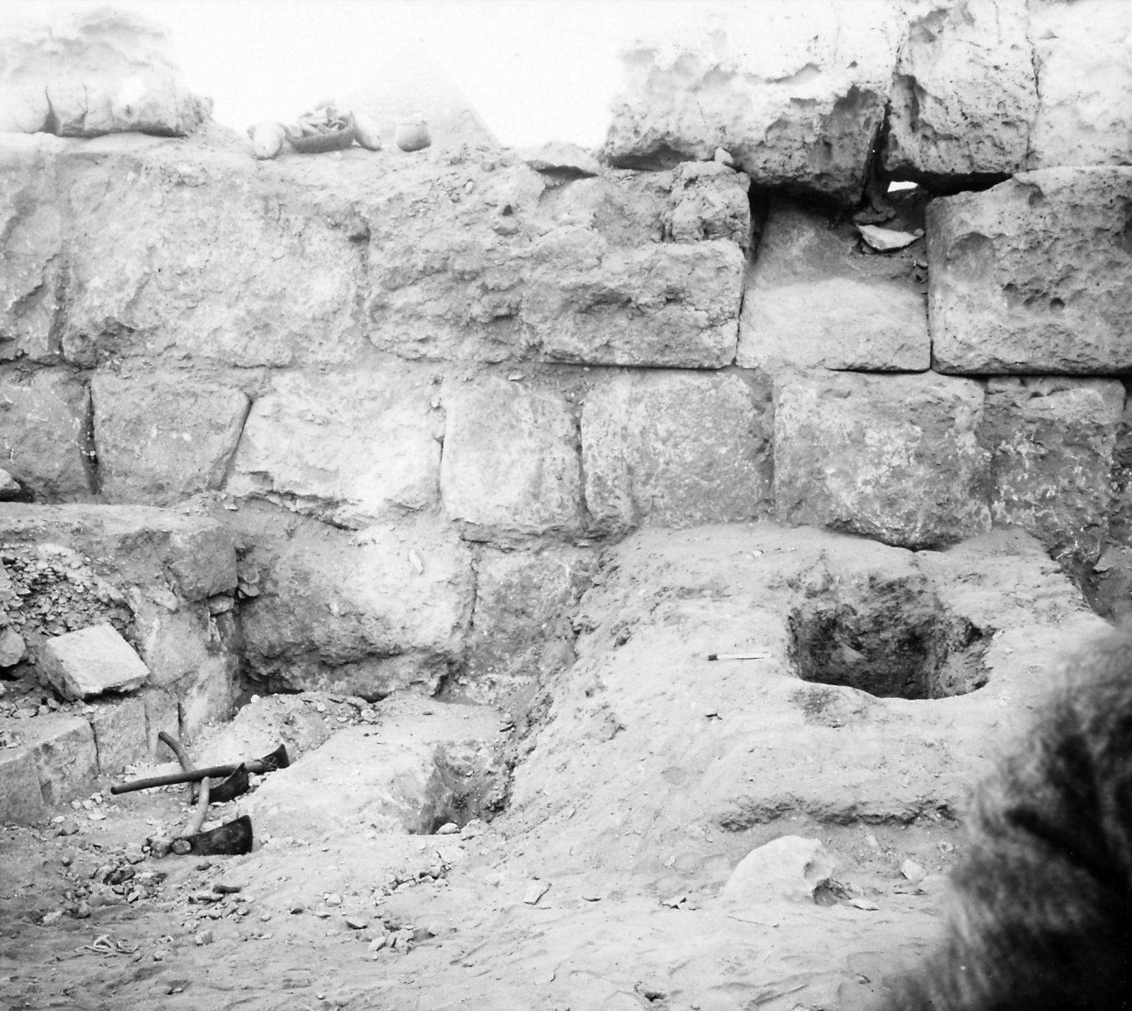 G I-South Cemetery: Site: Giza; View: S 354