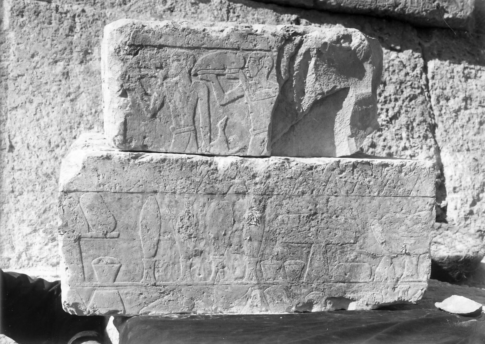 Object(s) photograph: Site: Giza; view: Mastaba IX