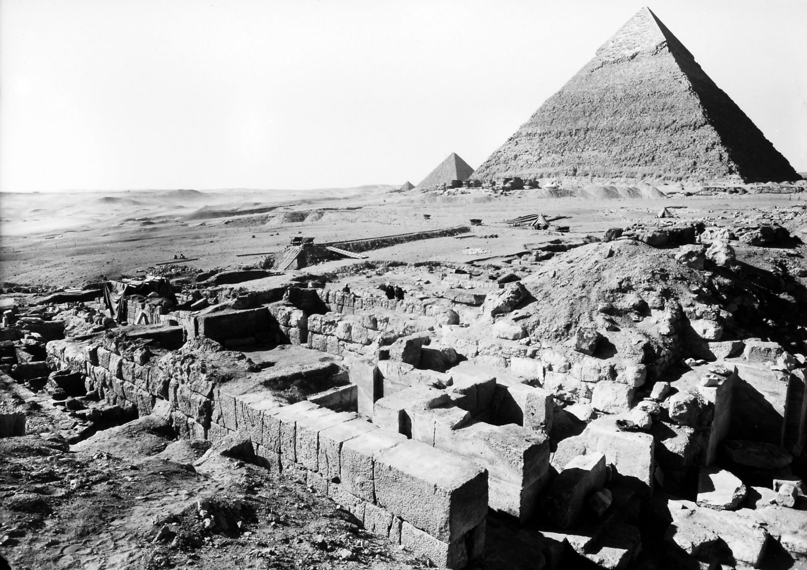 G I-South Cemetery: Site: Giza; View: Mastaba IX