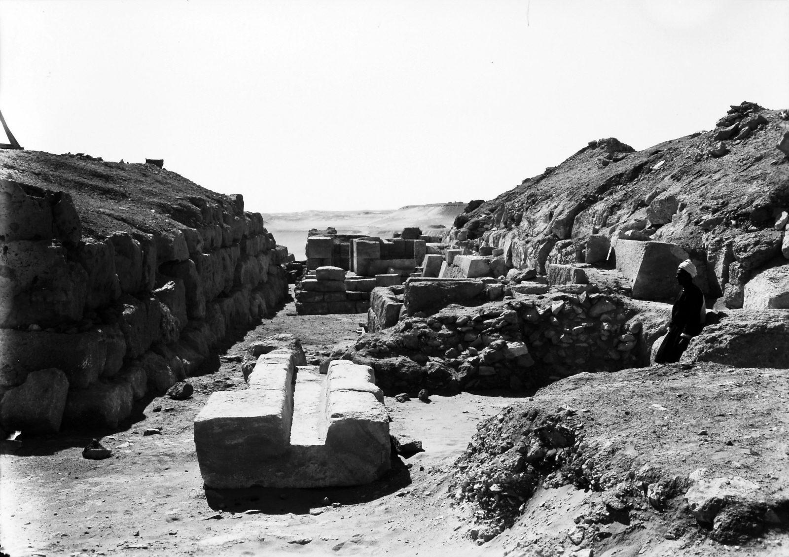 G I-South Cemetery: Site: Giza; View: Mastaba IX, Mastaba X