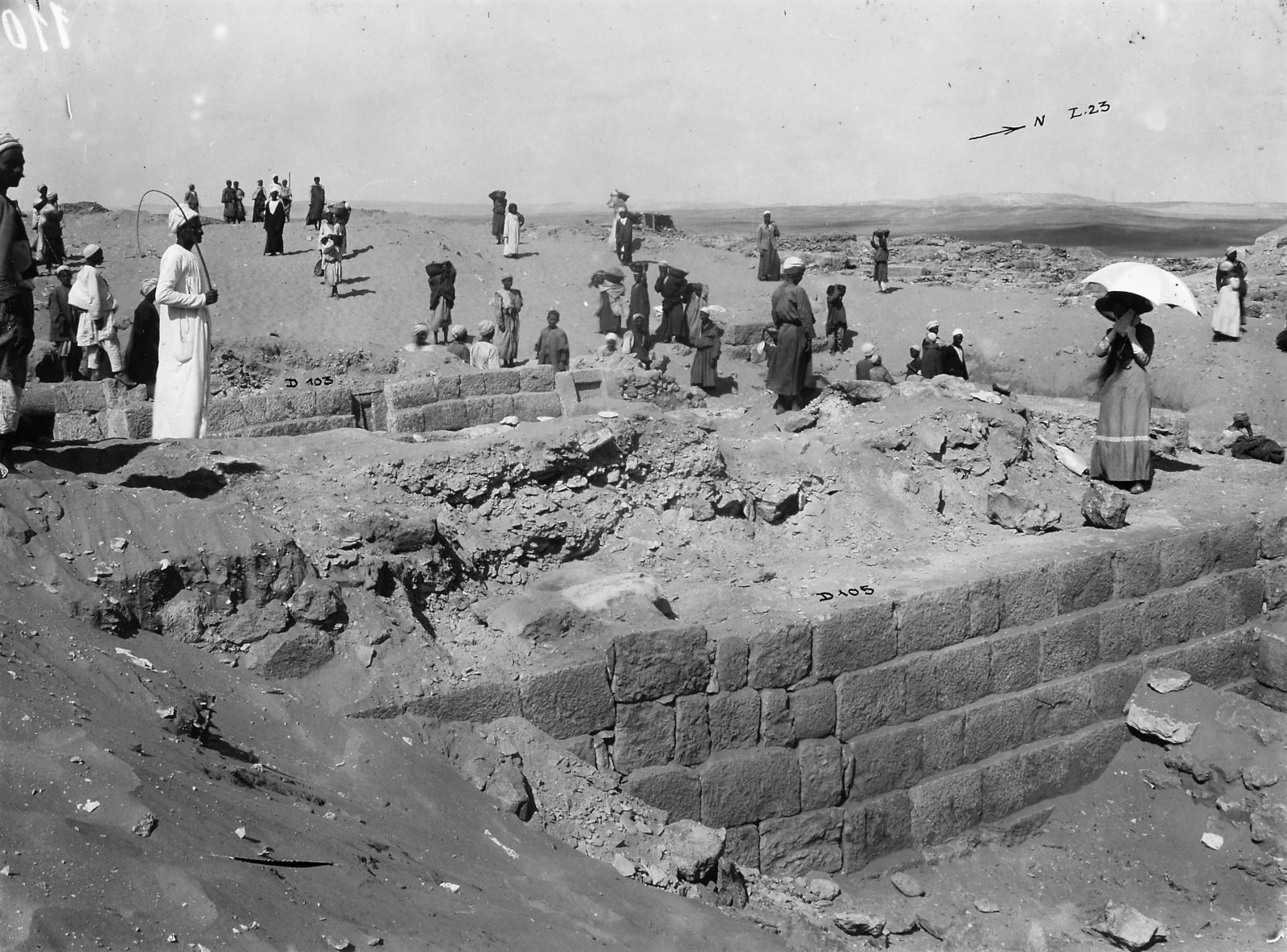 Western Cemetery: Site: Giza; View: D 105, D 103