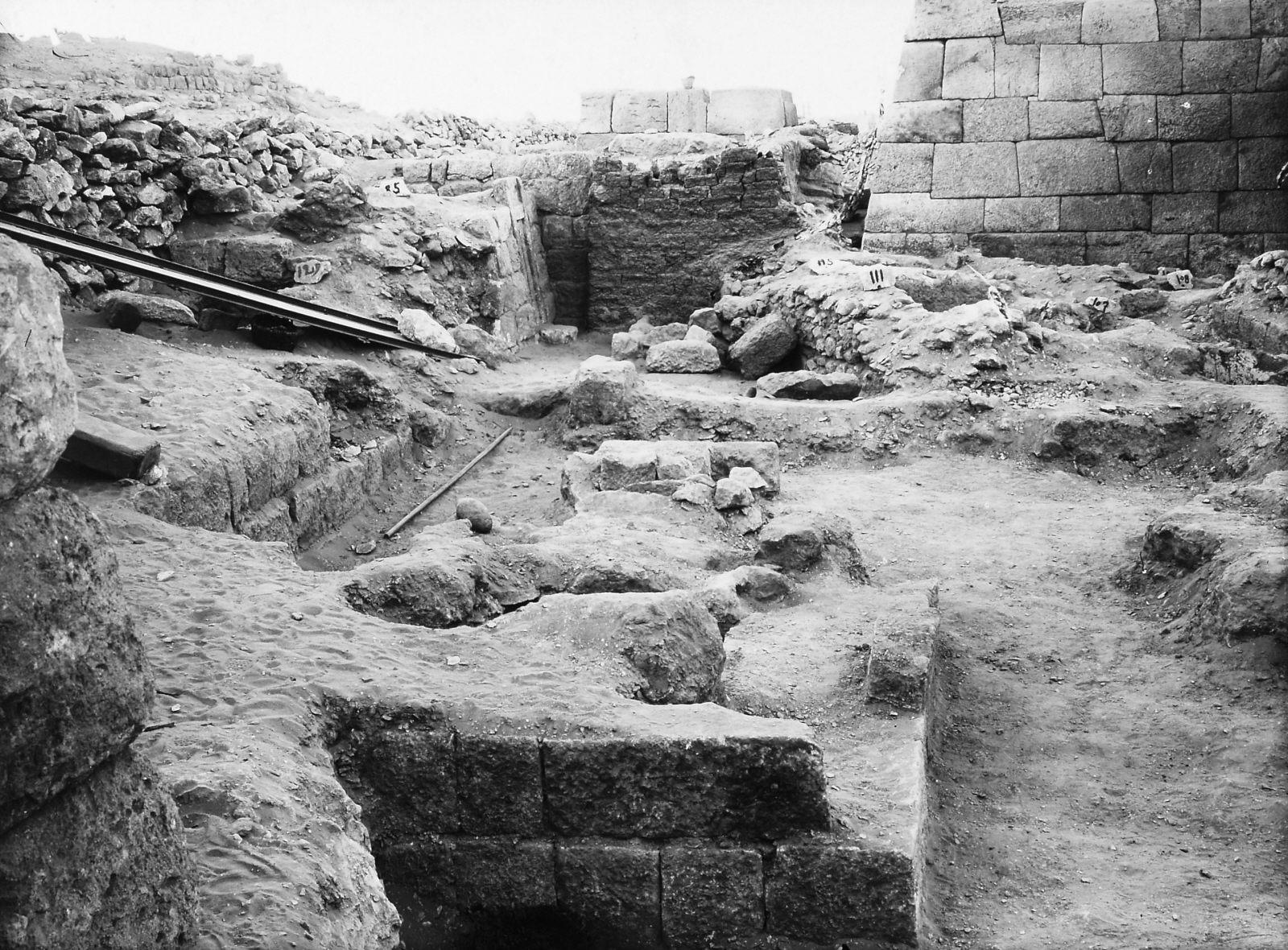 Western Cemetery: Site: Giza; View: S 179, S 85/129, S 111/115, Neferen