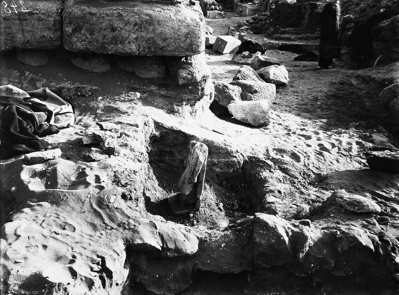 Western Cemetery: Site: Giza; View: Nimaatre (G 2136b)