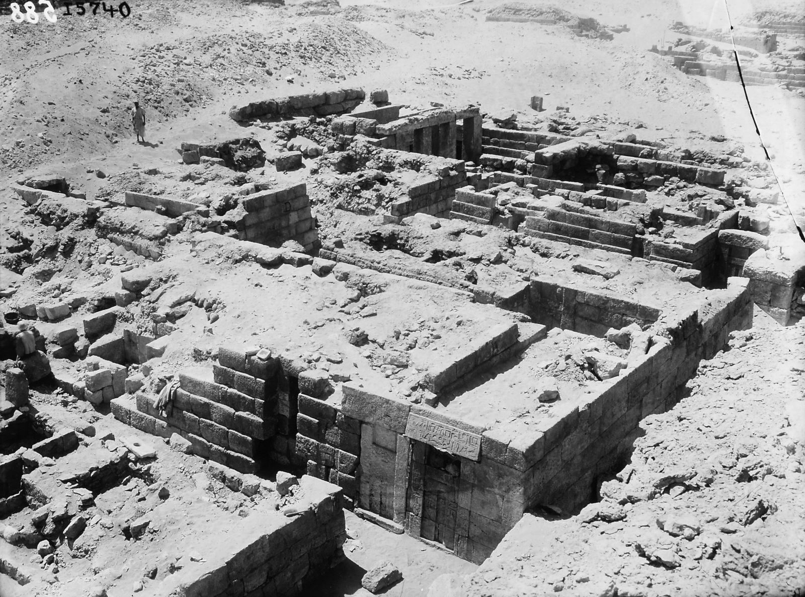 Western Cemetery: Site: Giza; View: D 201, D 202, D 203, D 204, D 208