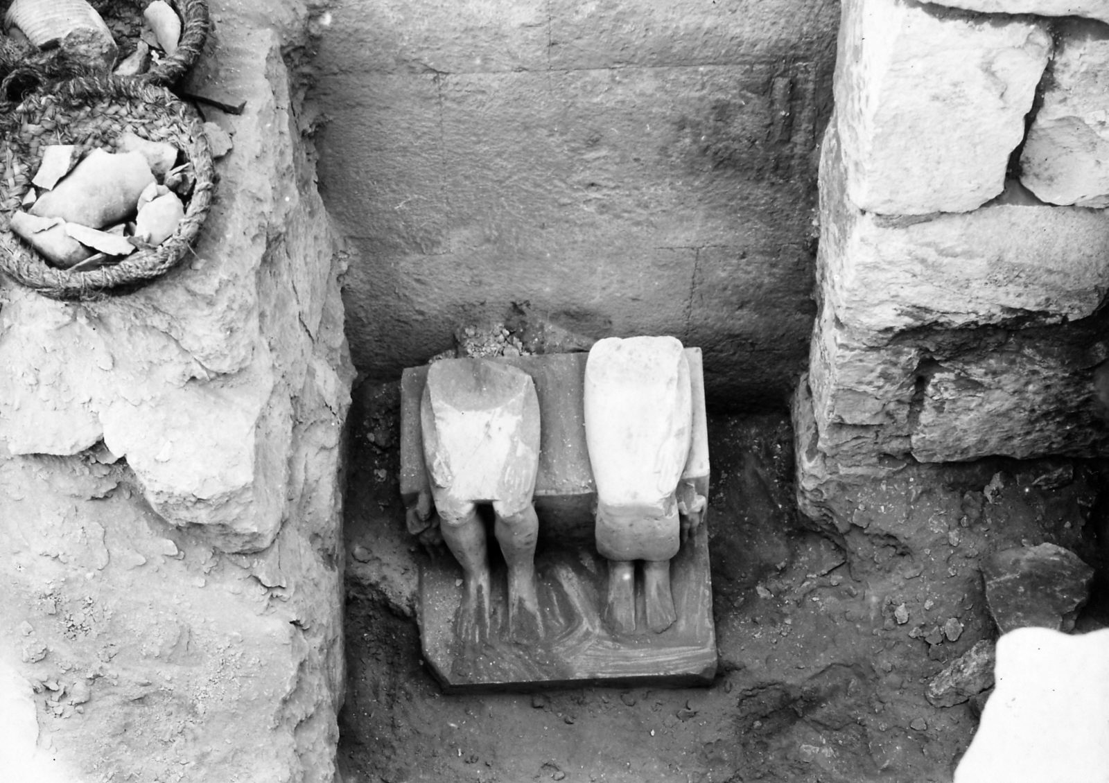 G I-South Cemetery: Site: Giza; View: Itjef