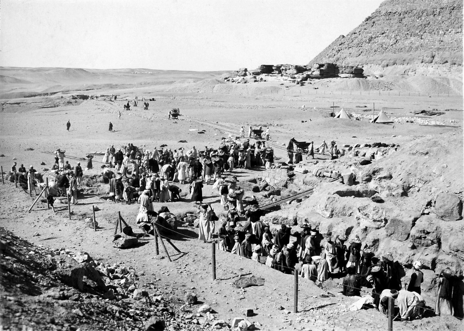 G I-South Cemetery: Site: Giza; View: Mastaba VI