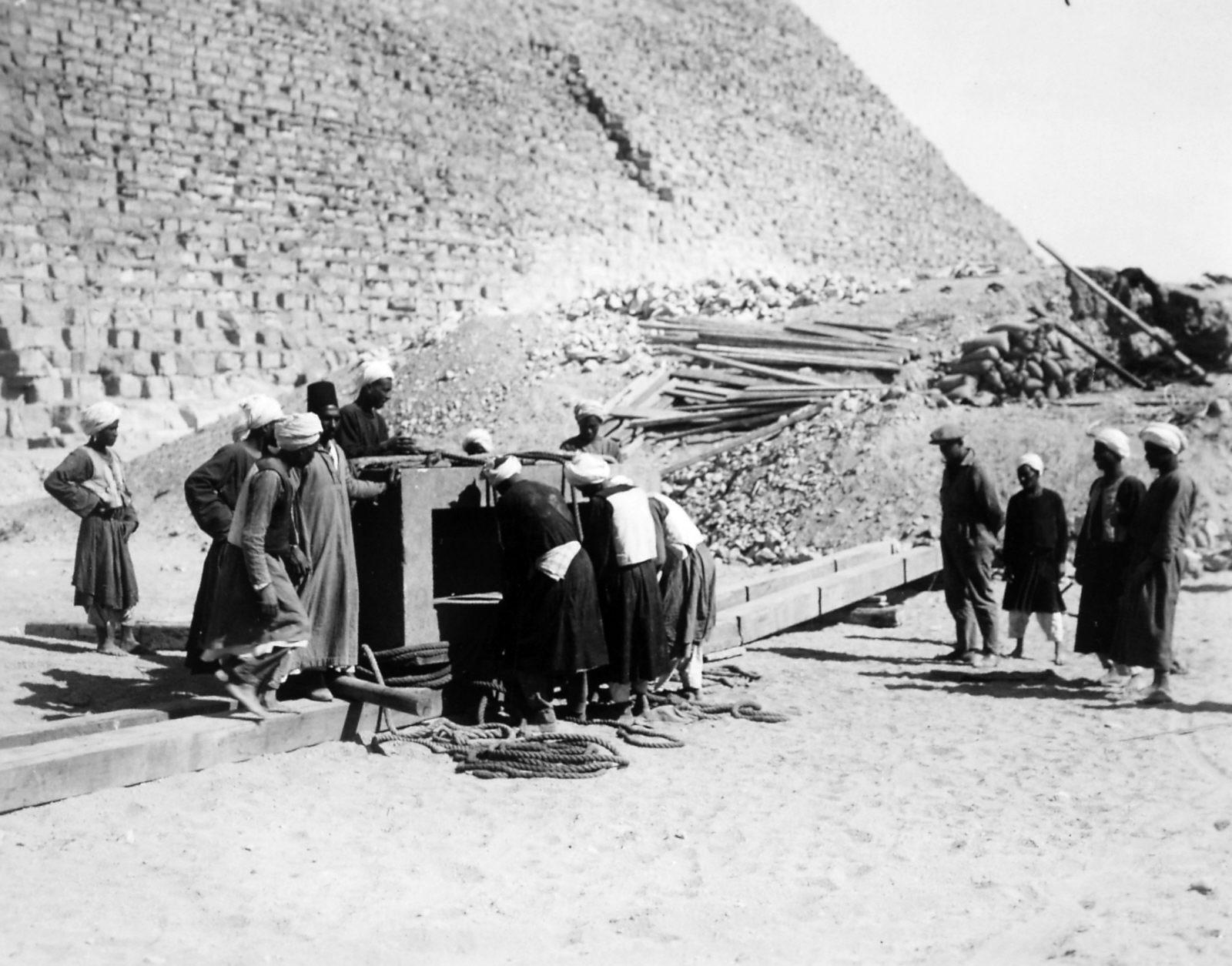 G I-South Cemetery: Site: Giza; View: Mastaba I