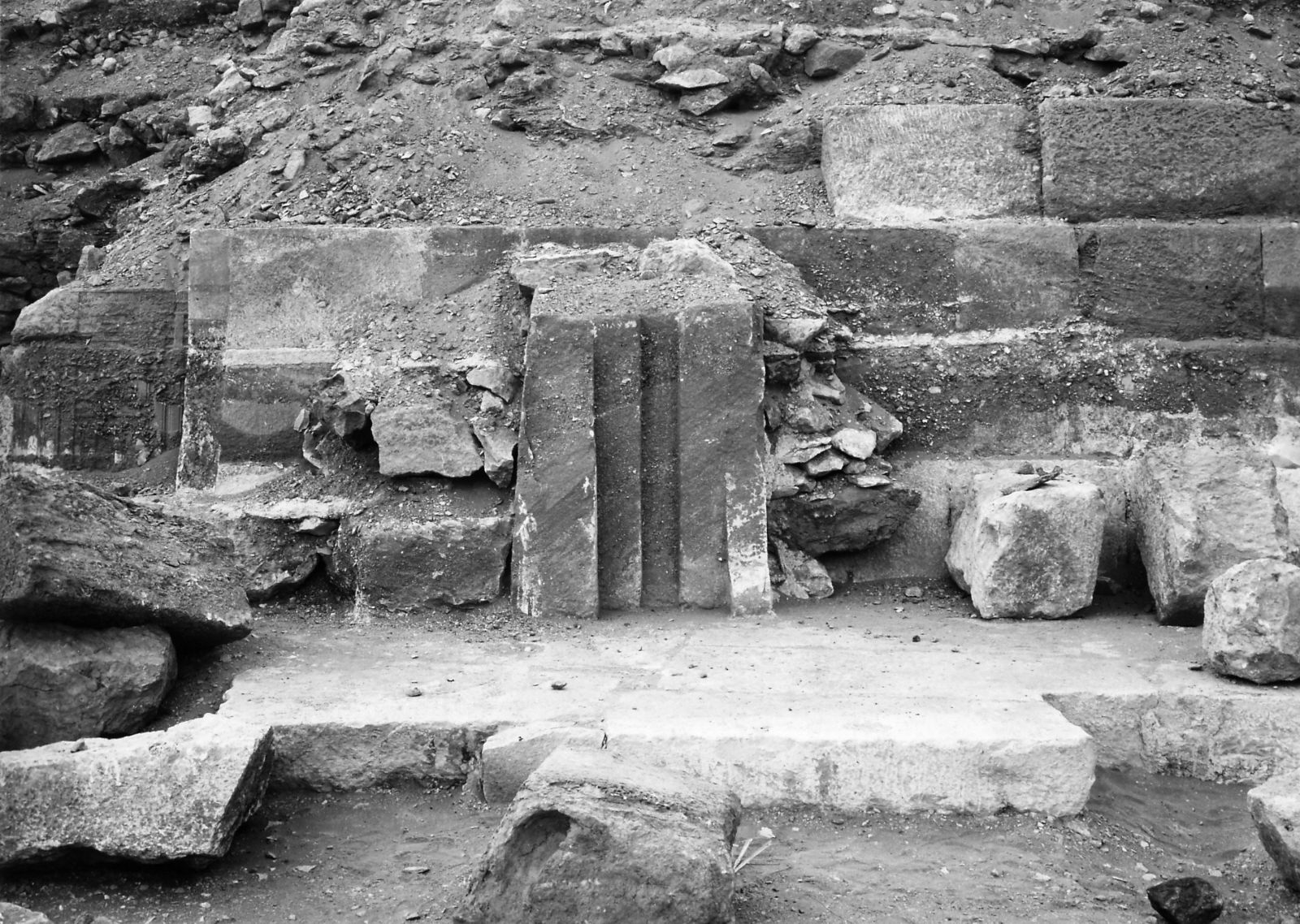G I-South Cemetery: Site: Giza; View: Mastaba IV