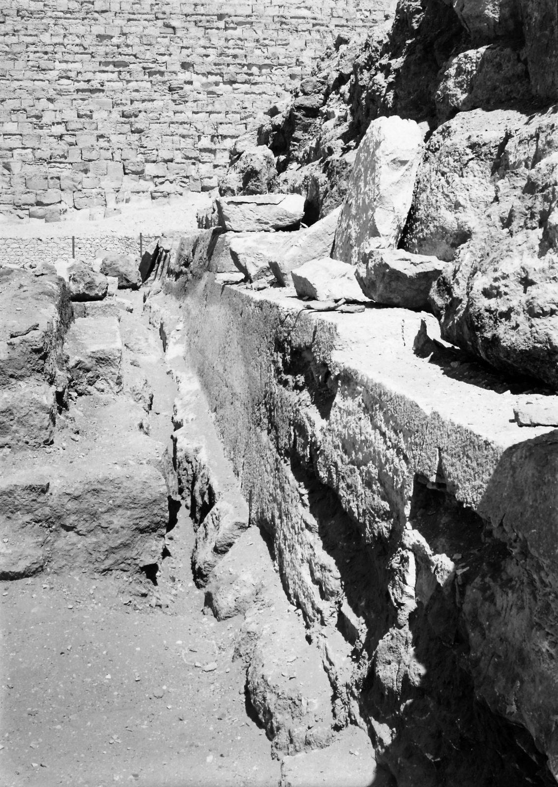 G I-South Cemetery: Site: Giza; View: Mastaba III