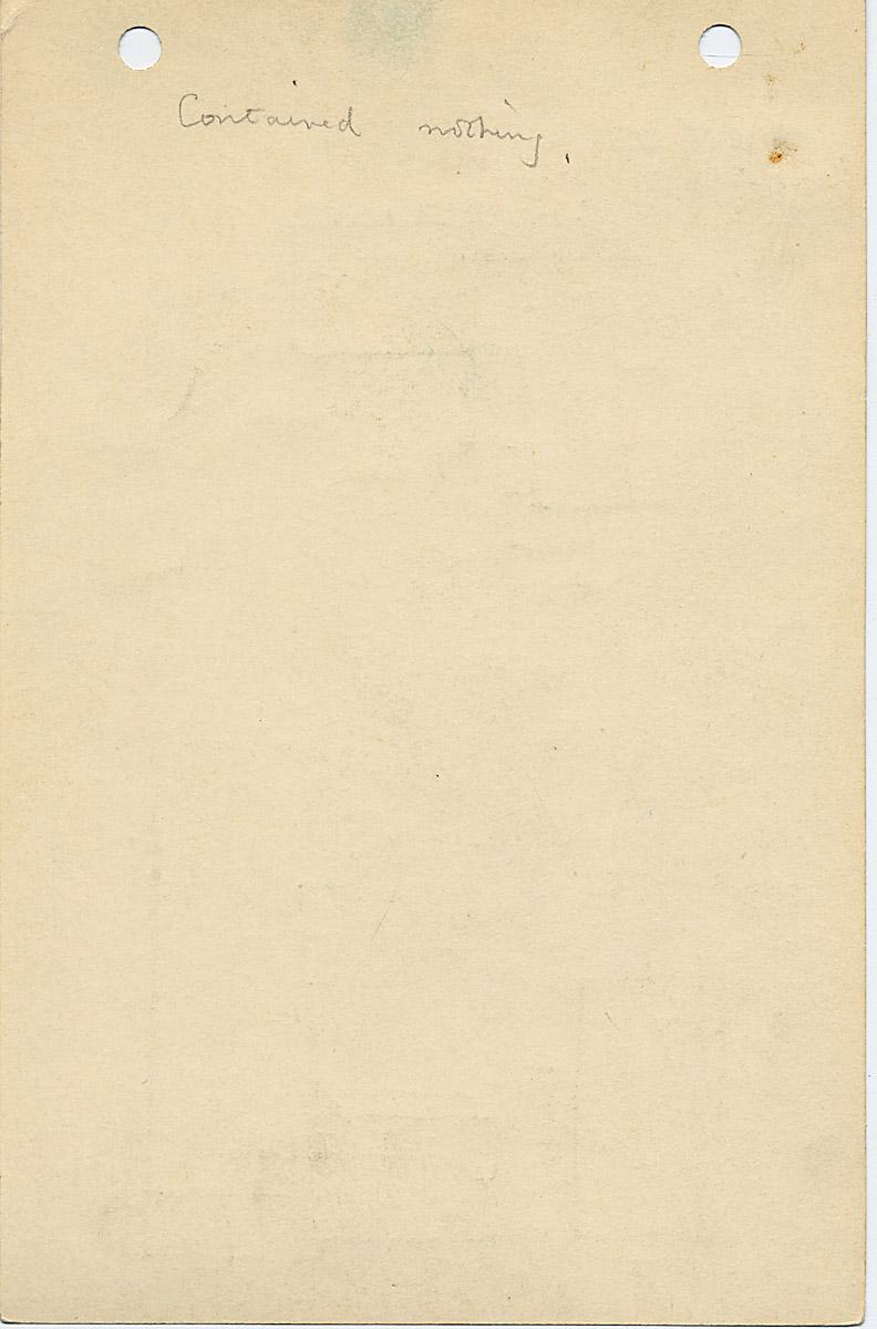 Notes: G 1029, Shaft D, notes