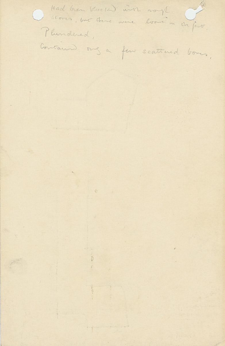 Notes: G 1068, Shaft B, notes