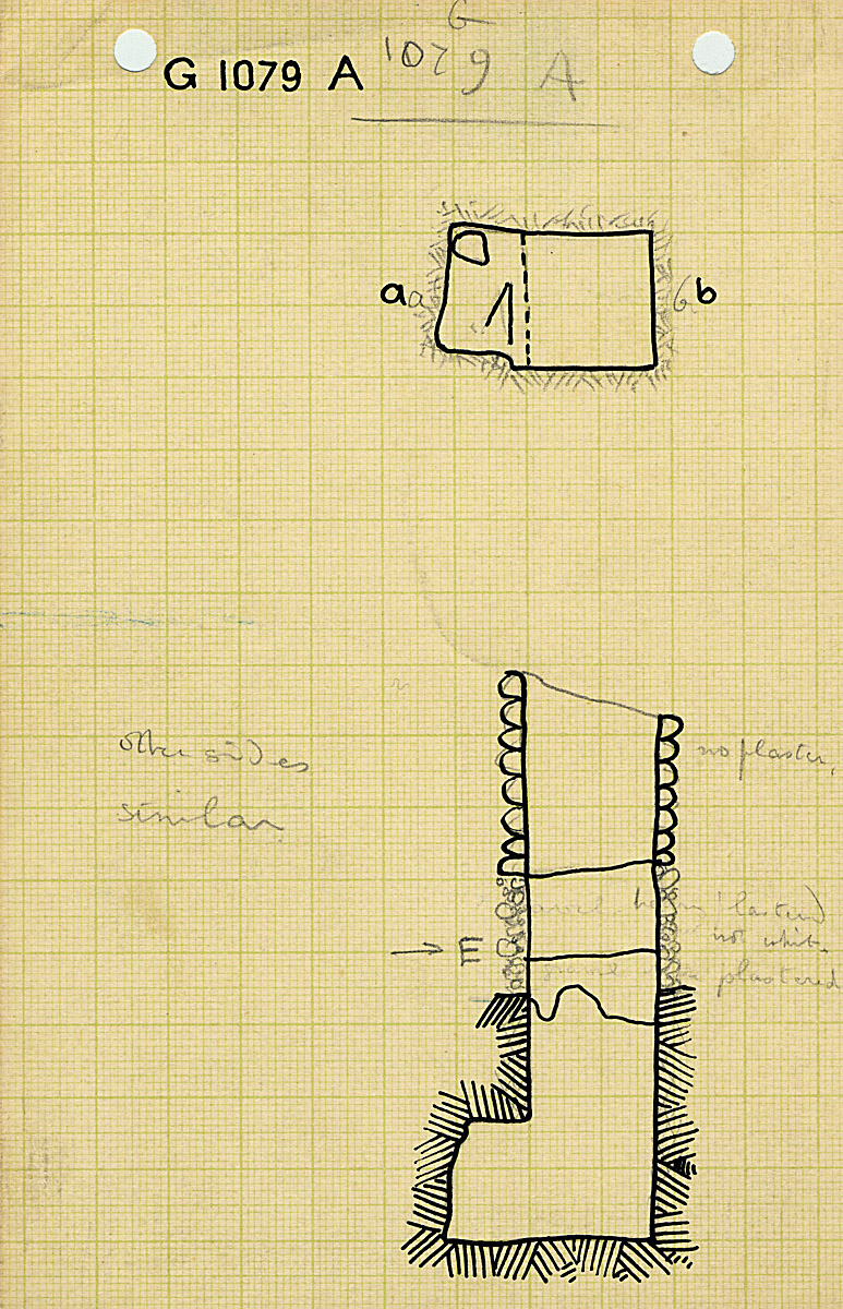 Maps and plans: G 1079, Shaft A