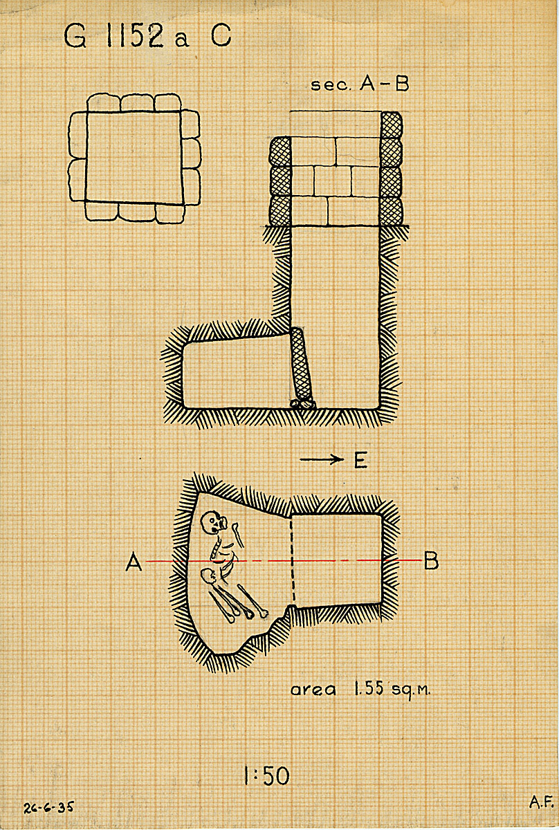 Maps and plans: G 1152a, Shaft C
