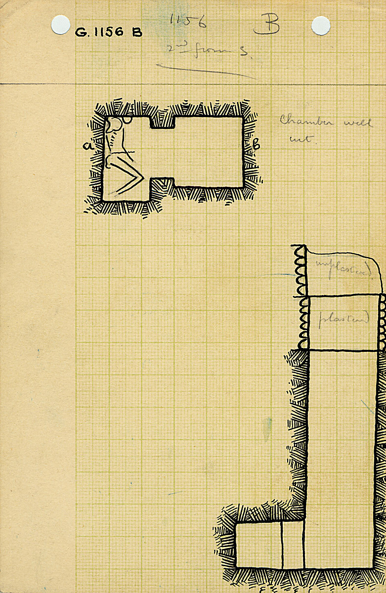 Maps and plans: G 1156, Shaft B