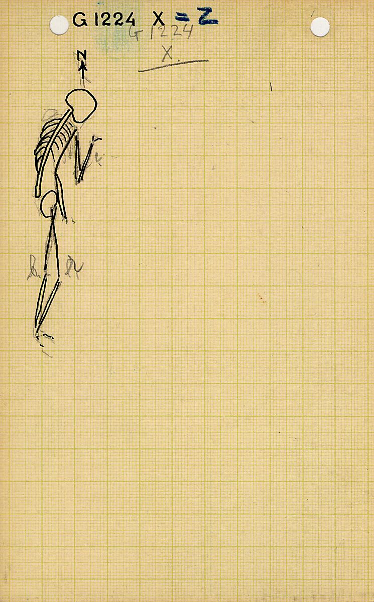 Drawings: G 1224+1311: G 1224, Shaft Z