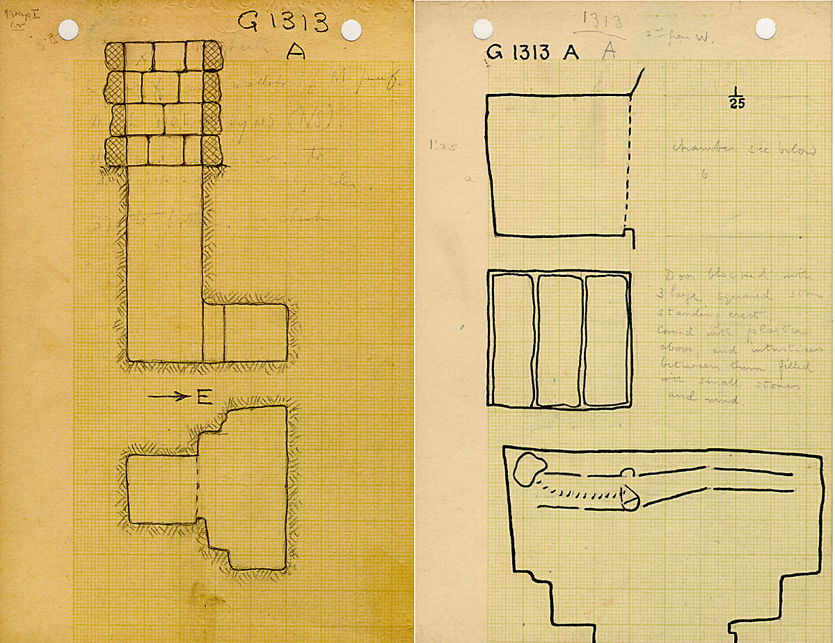 Maps and plans: G 1313, Shaft A
