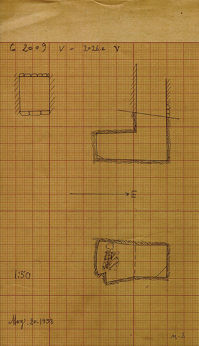 Maps and plans: G 2026e, Shaft V