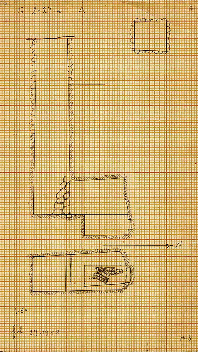 Maps and plans: G 2027a, Shaft A