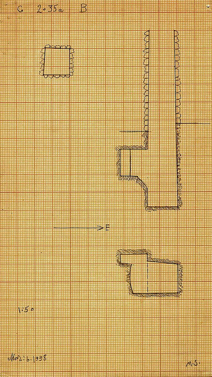 Maps and plans: G 2035a, Shaft B