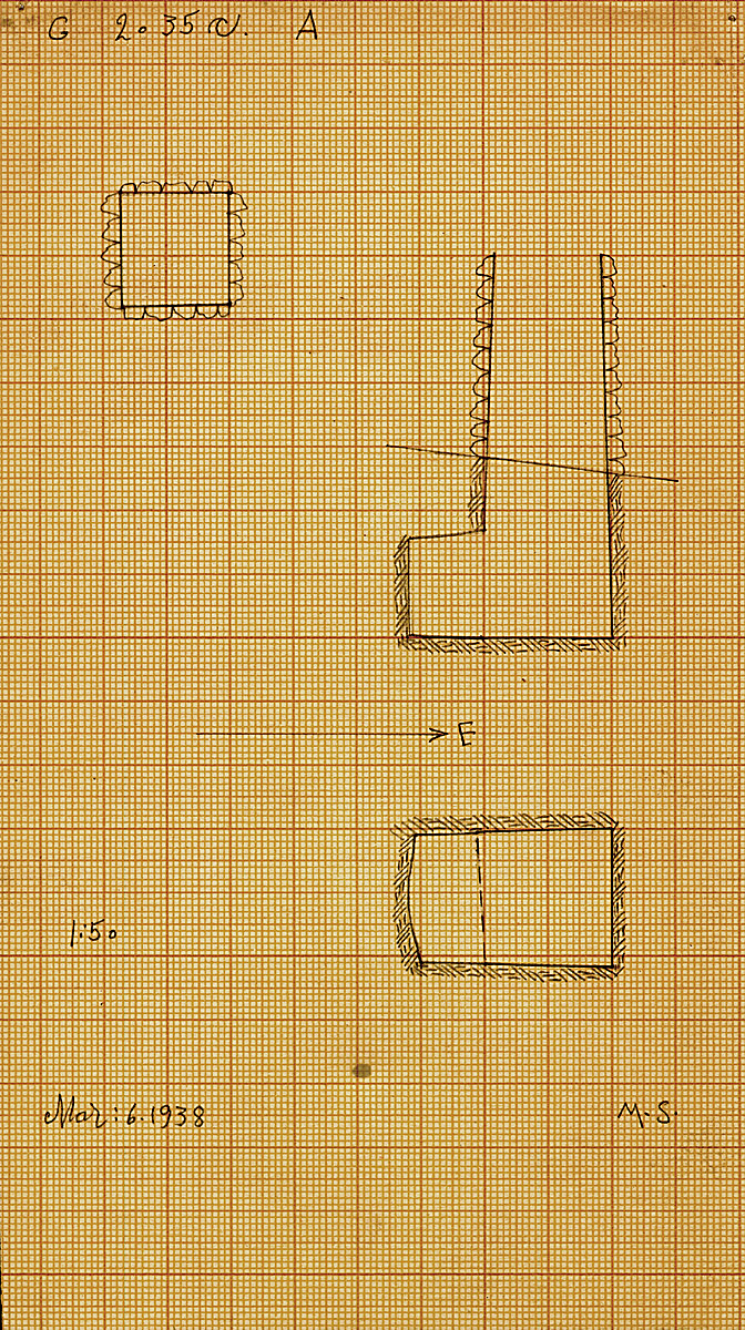 Maps and plans: G 2035c, Shaft A