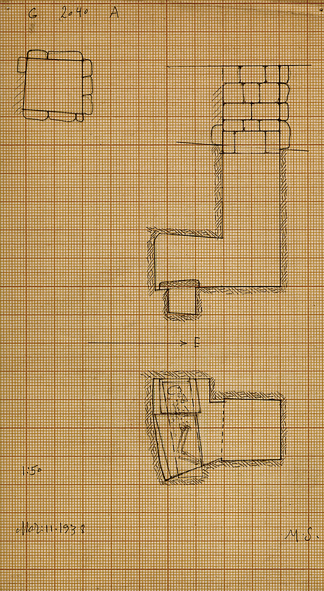 Maps and plans: G 2040, Shaft A