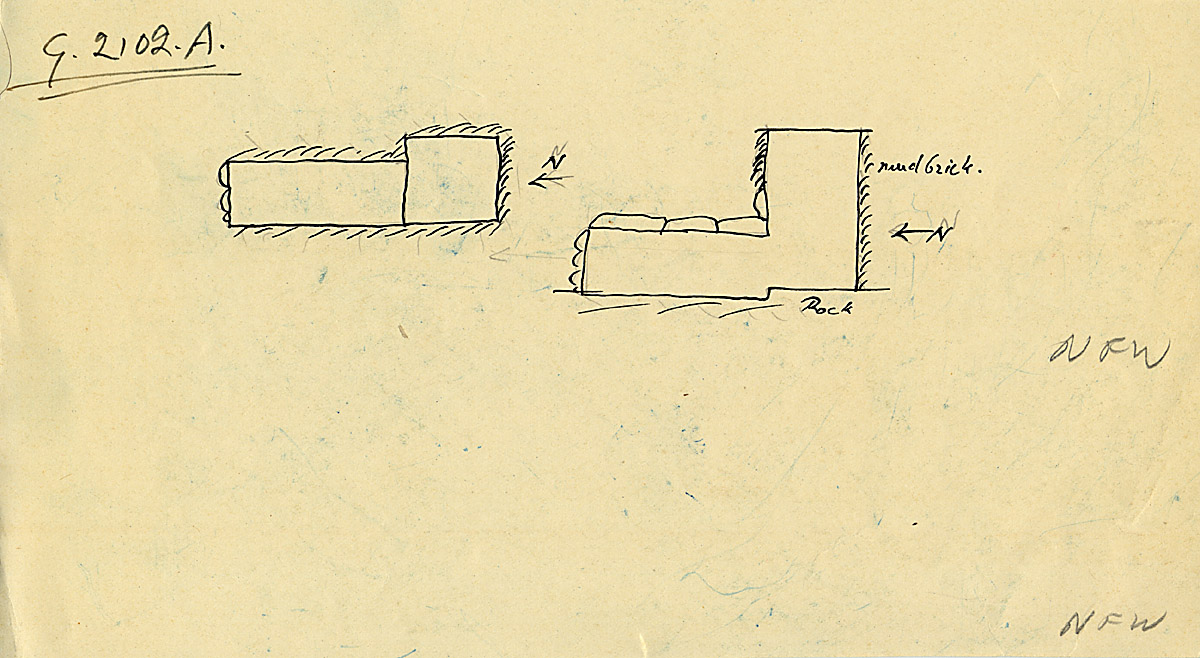 Maps and plans: G 2102, Shaft A