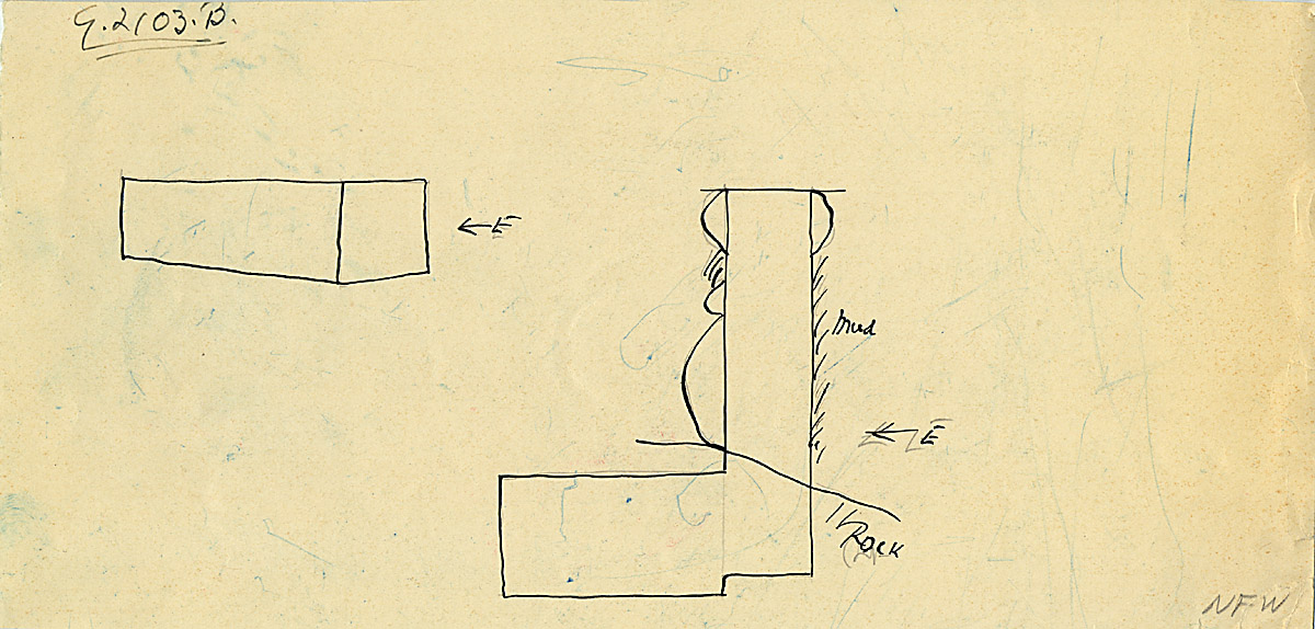 Maps and plans: G 2103, Shaft B