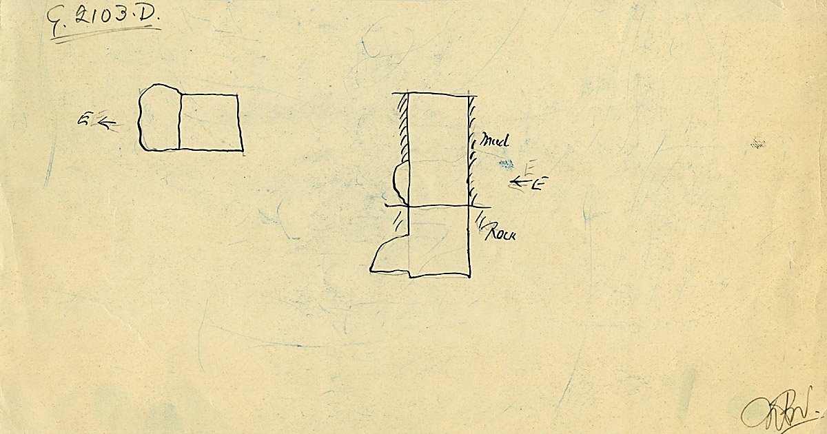 Maps and plans: G 2103, Shaft D