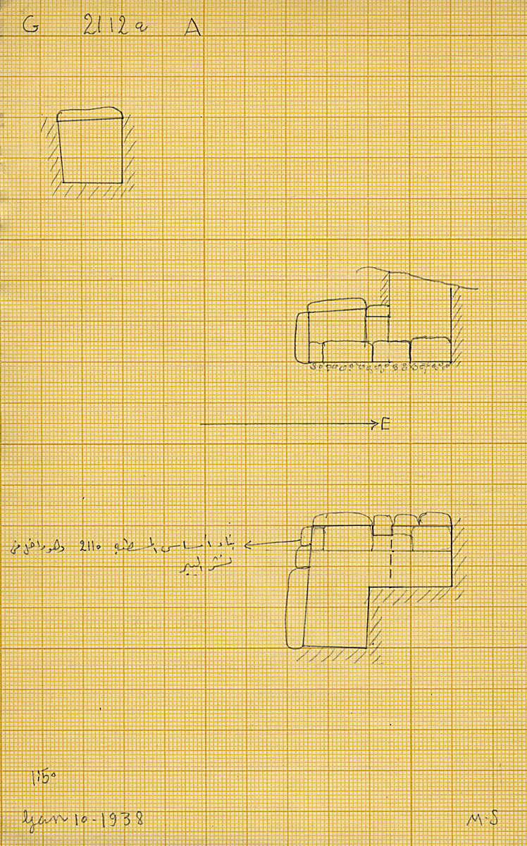 Maps and plans: G 2112a, Shaft A