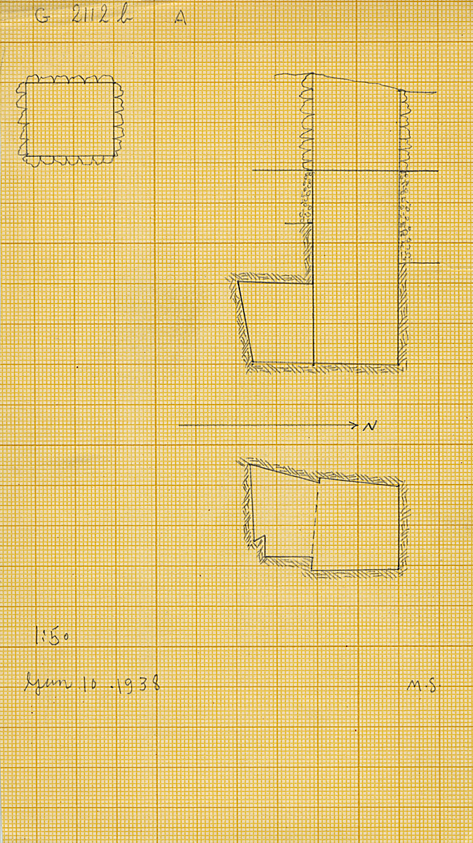Maps and plans: G 2112b, Shaft A