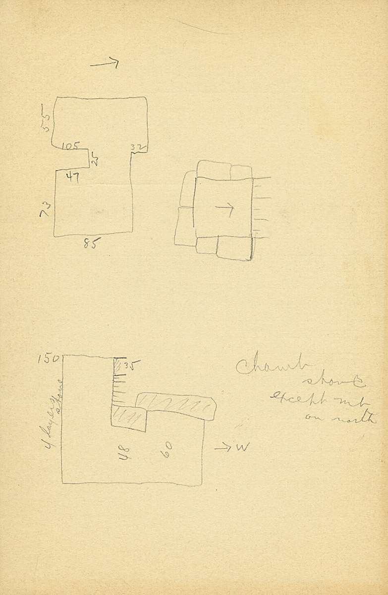 Maps and plans: G 2135' = G 2134a, Shaft Y