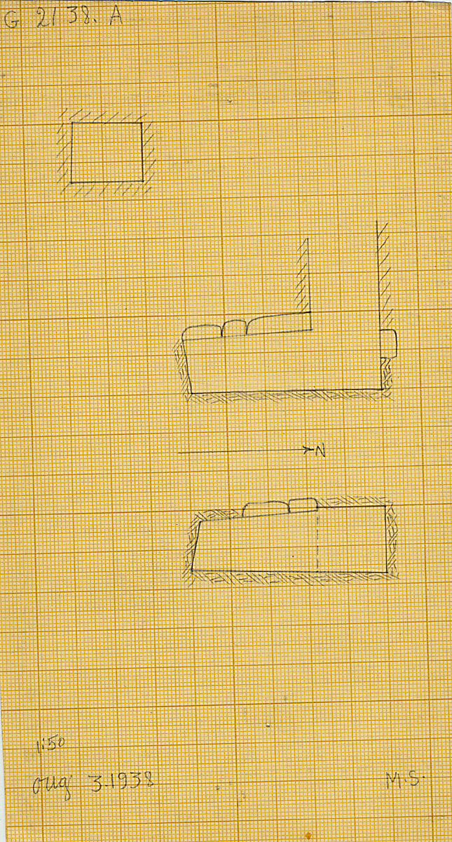 Maps and plans: G 2138, Shaft A
