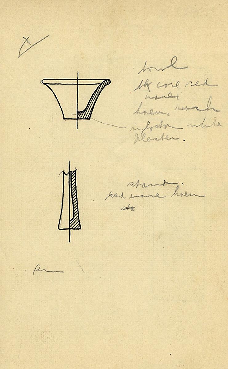 Drawings: G 2142, Shaft B, objects