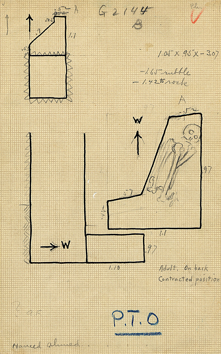 Maps and plans: G 2144, Shaft B