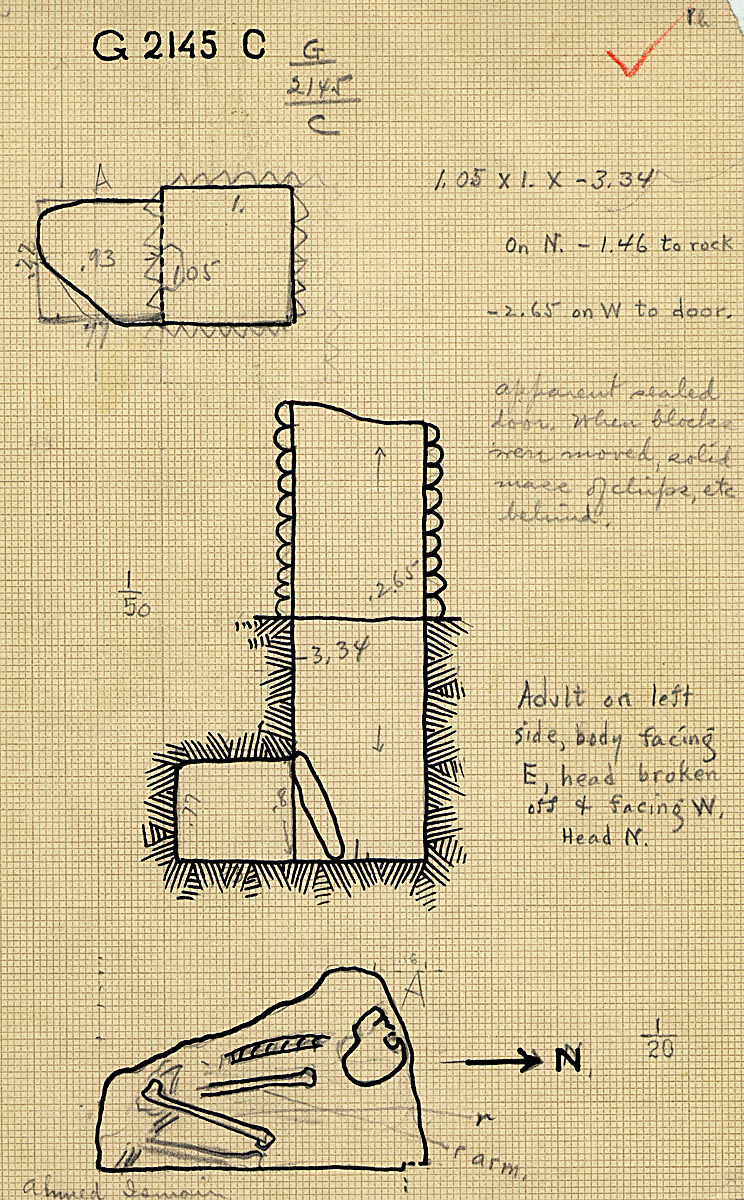 Maps and plans: G 2145, Shaft C