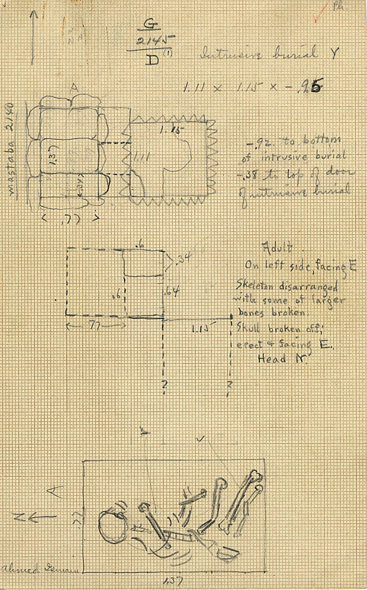 Maps and plans: G 2145, Shaft D1