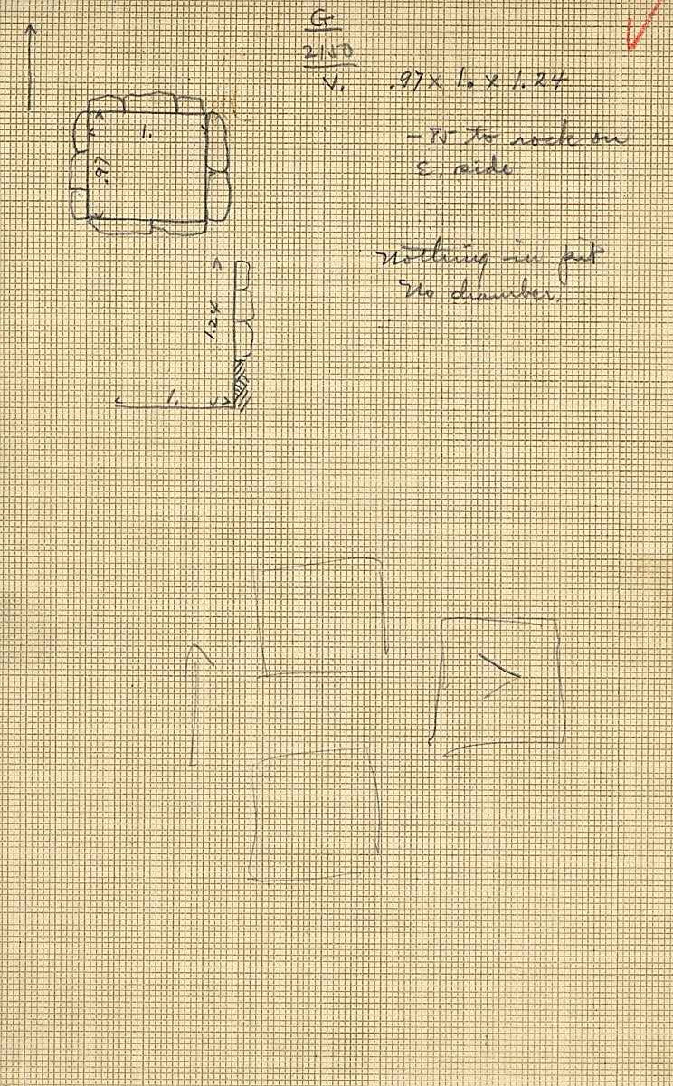 Maps and plans: G 2150, Shaft V