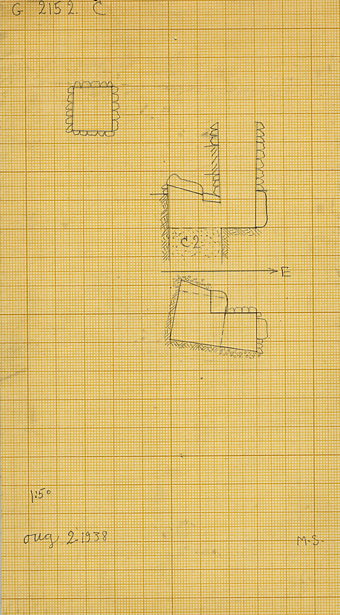 Maps and plans: G 2152, Shaft C1