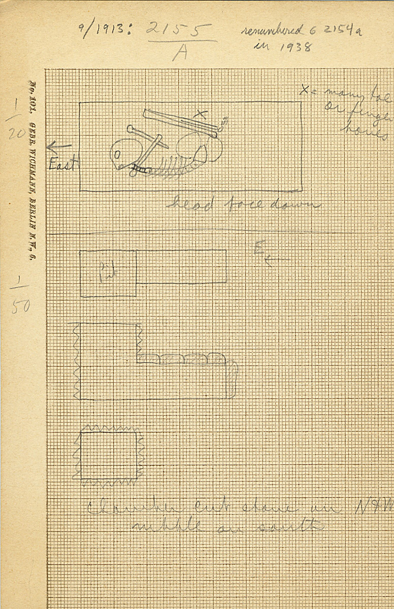 Maps and plans: G 2154a, Shaft A