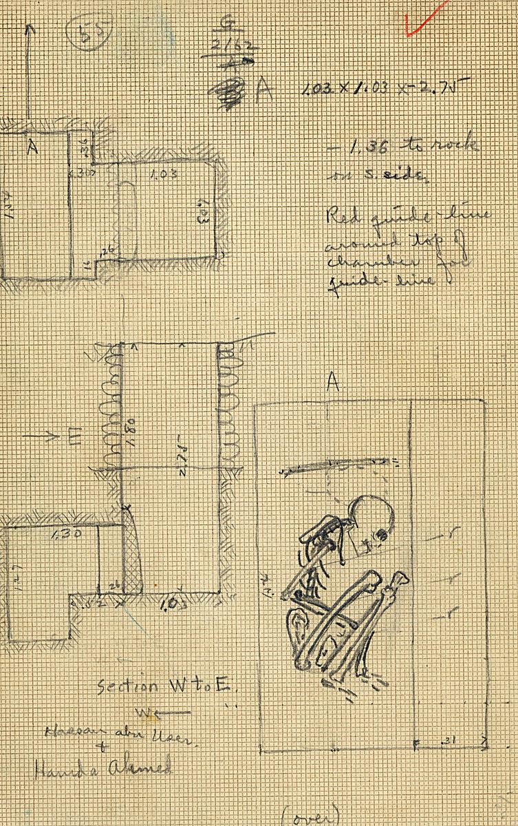 Maps and plans: G 2162, Shaft A