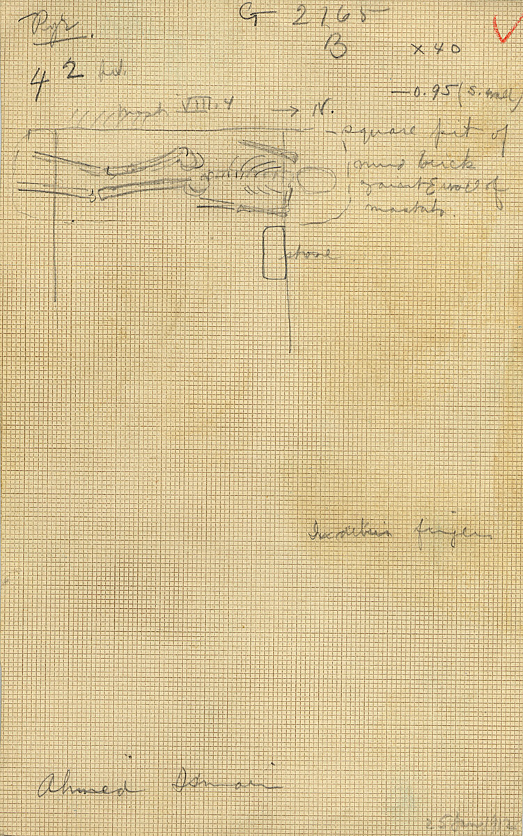 Maps and plans: G 2165, Shaft B