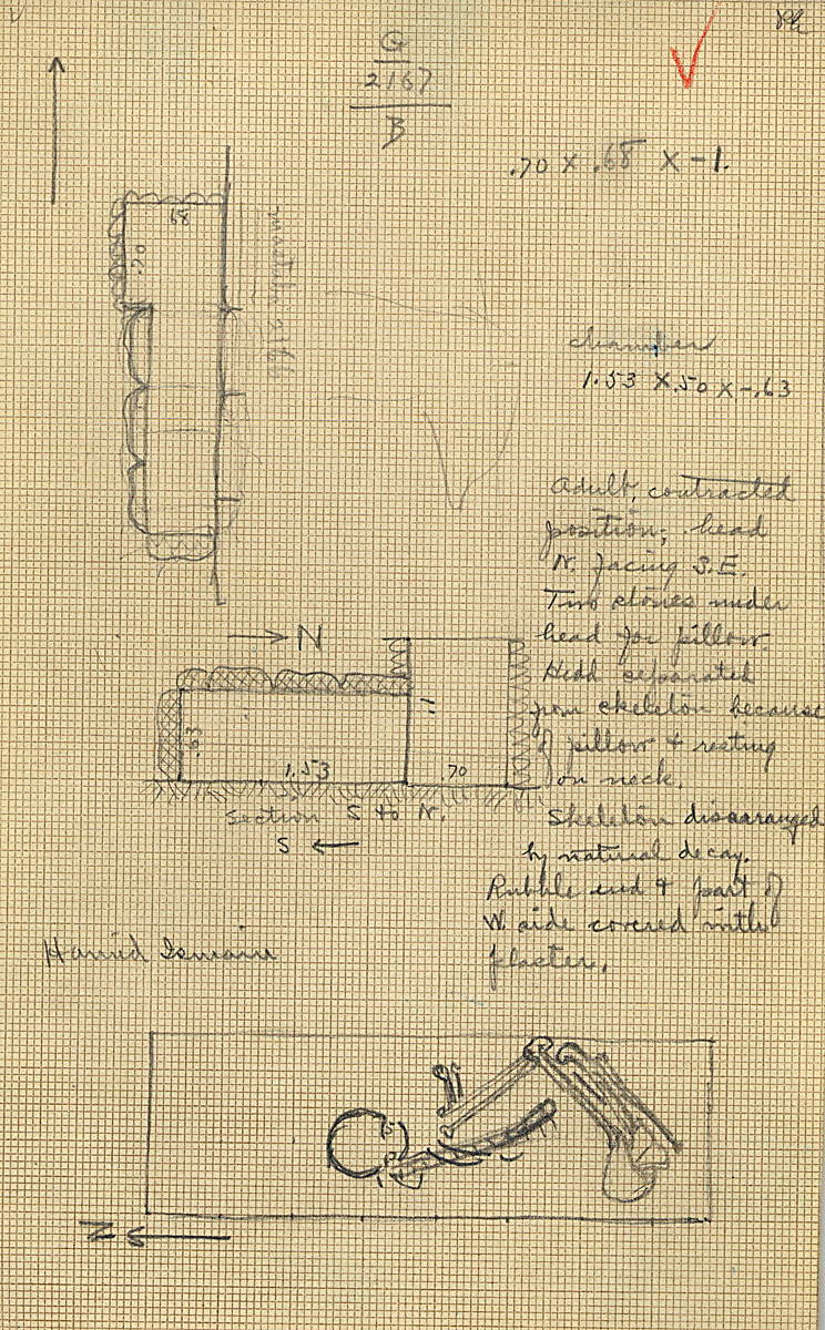 Maps and plans: G 2167, Shaft B