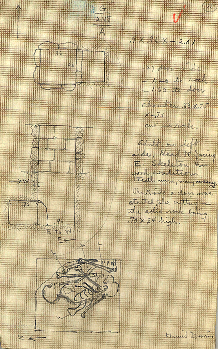 Maps and plans: G 2168, Shaft A