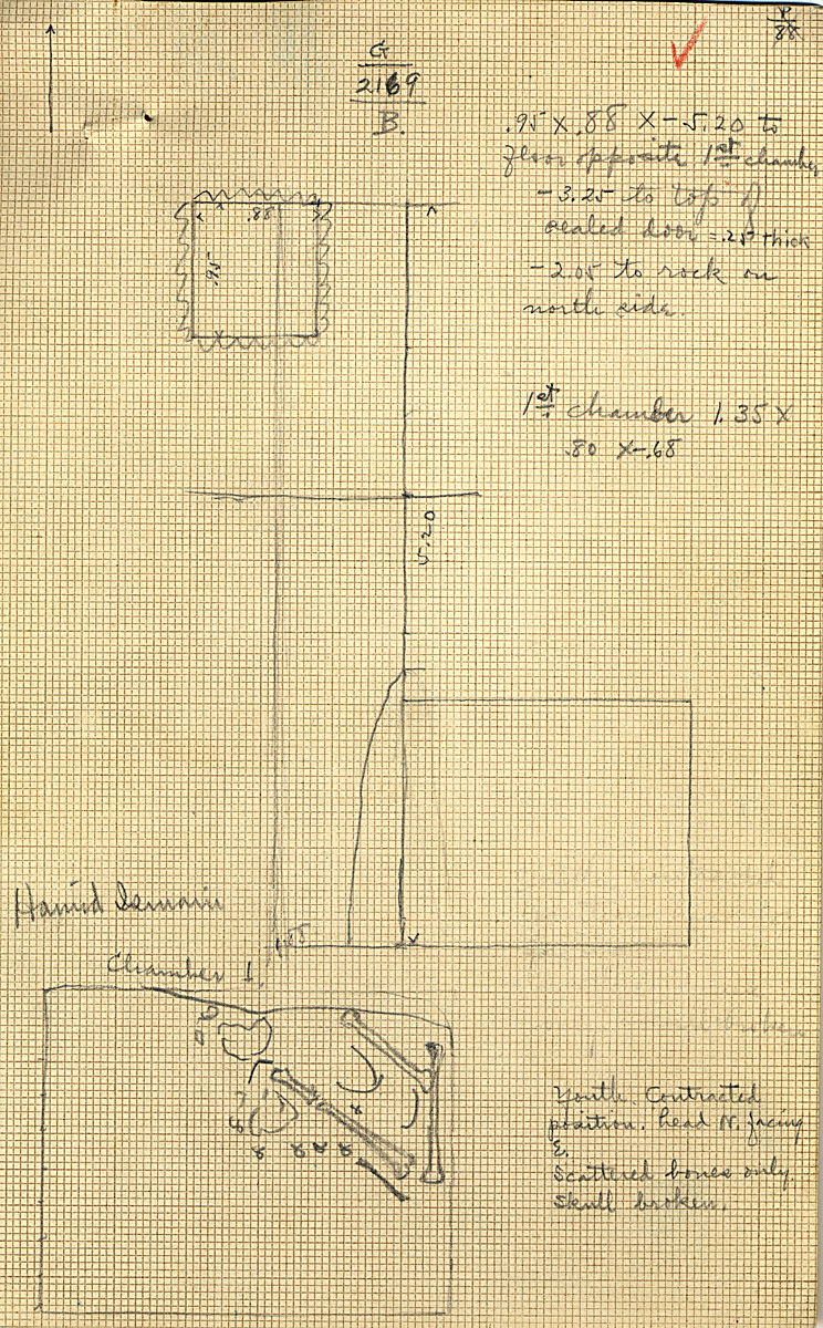 Maps and plans: G 2169, Shaft B